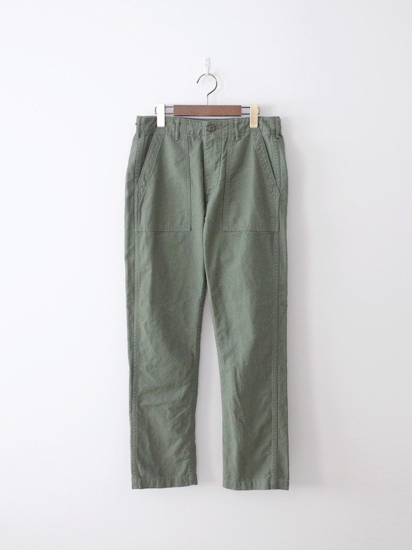 orSlow Slim Fit Fatigue Pants - Green
