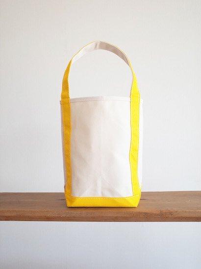 TEMBEA  Baguette Tote Small - Natural / Dk Yellow