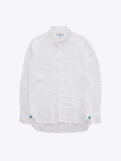 James Mortimer Irish Linen B.D Shirts - White