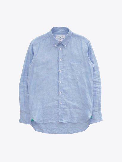 James Mortimer Irish Linen B.D Shirts - Cool Blue