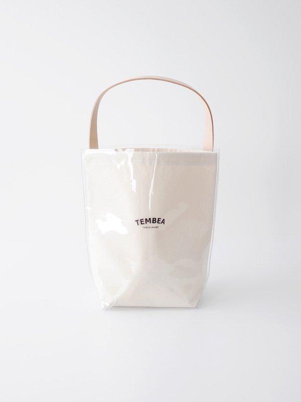 TEMBEA Baguette Tote PVC - Clear