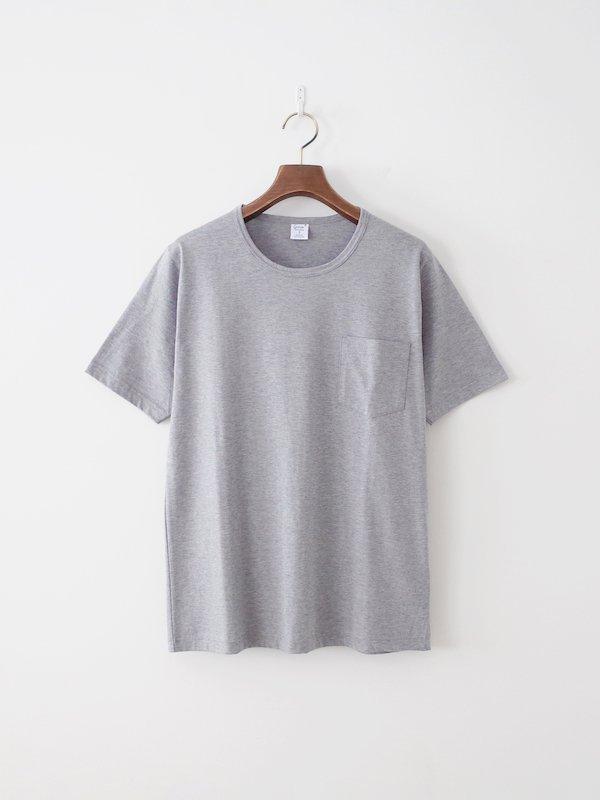 <img class='new_mark_img1' src='https://img.shop-pro.jp/img/new/icons21.gif' style='border:none;display:inline;margin:0px;padding:0px;width:auto;' />【30%OFF】gicipi シルケットコットンポケットTシャツ Grigio Melange