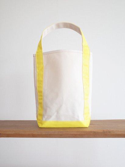 TEMBEA  Baguette Tote - Natural / Yellow