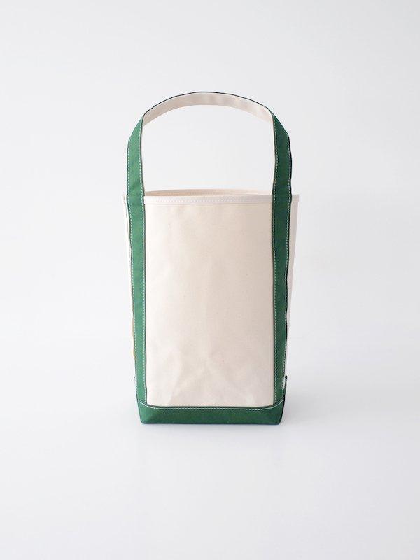 TEMBEA Baguette Tote - Natural / Green