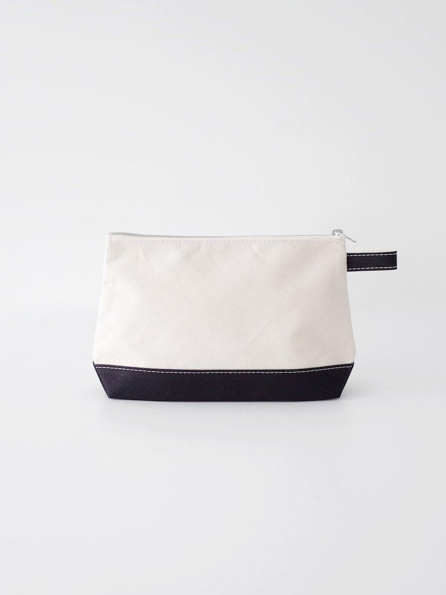 TEMBEA Toiletry Bag Large - Natural / Black