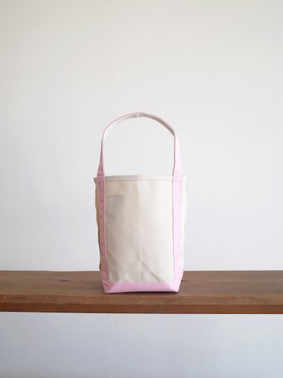 TEMBEA Baguette Tote Mini - Natural / Pink