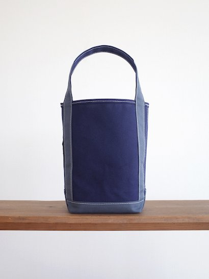 TEMBEA  Baguette Tote Small - Navy / Smoky Blue