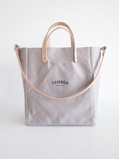 TEMBEA Club Tote Logo - Gray