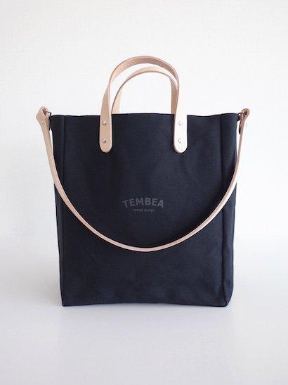 TEMBEA Club Tote Logo - Black
