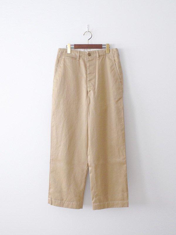 orSlow Vintage Fit Army Trouser - Khaki