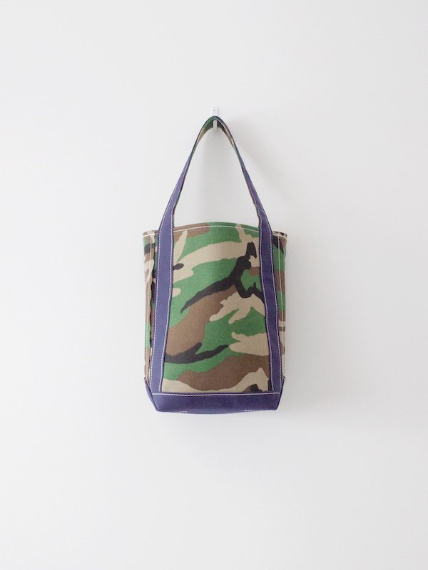 TEMBEA Baguette Tote Small - Woodland Camo / Dk Navy