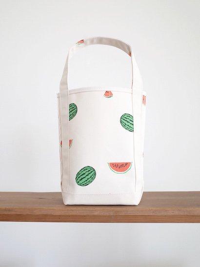 TEMBEA  Baguette Tote Small - Watermelon