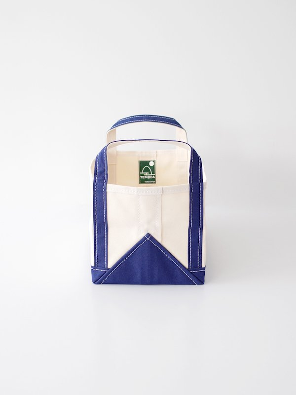 TEMBEA Book Tote Small - Natural / Navy