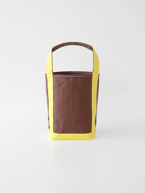 TEMBEA Baguette Tote Small - Brown / Yellow