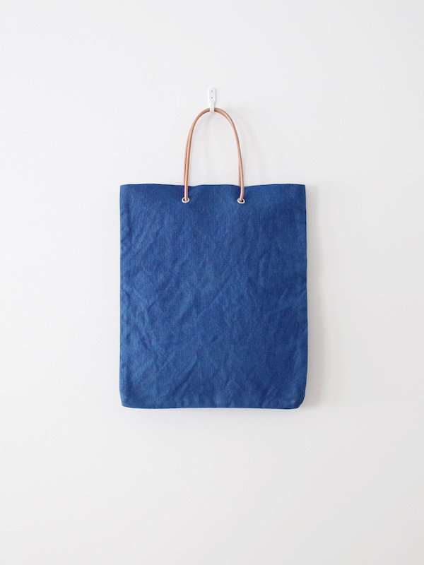 TEMBEA Paper Bag Logo - Mid Indigo
