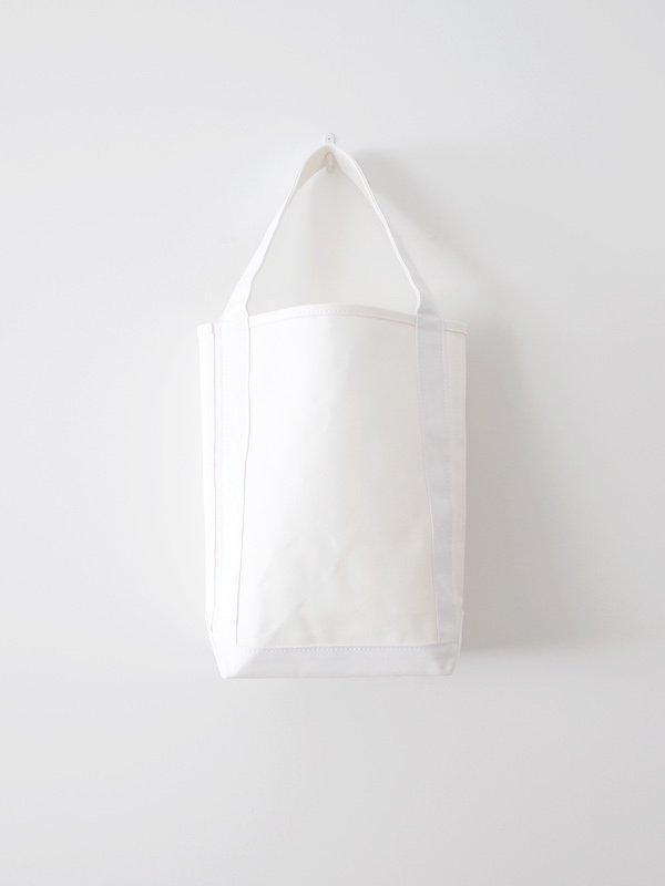 TEMBEA Baguette Tote - White / White
