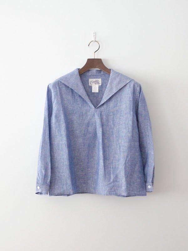 Charpentier de Vaisseau Susie セーラーシャツ Blue