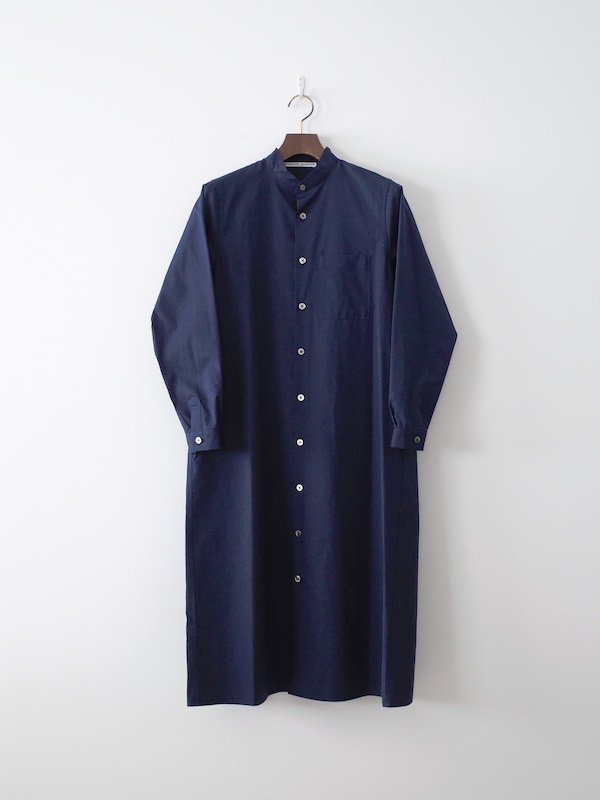 Charpentier de Vaisseau Dolly コットンシャツワンピース Navy