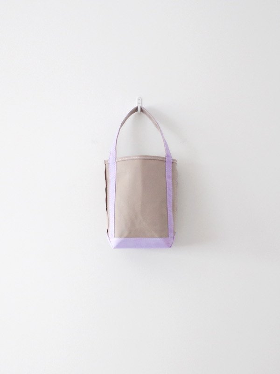 TEMBEA Baguette Tote Mini - Gray / Lavender