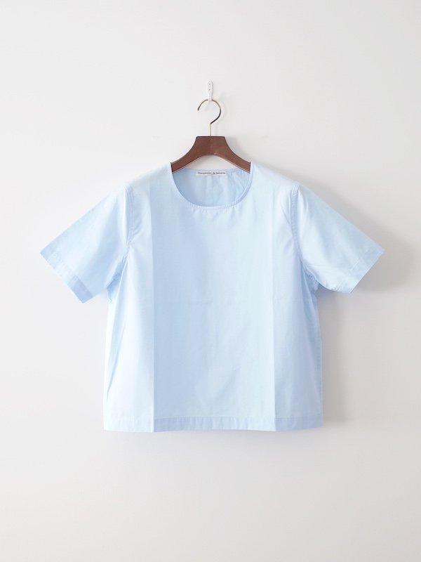 Charpentier de Vaisseau Spencer 半袖クルーネックシャツ Light Blue
