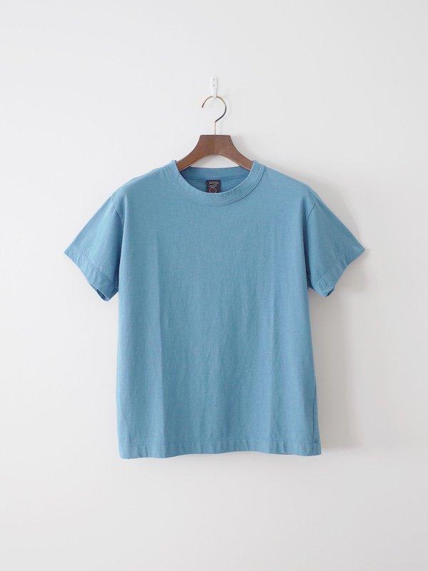 homspun 天竺半袖Tシャツ サックス(メンズ)