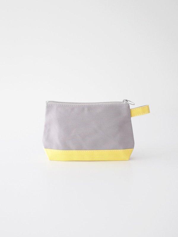 TEMBEA Toiletry Bag - Gray / Lt Yellow