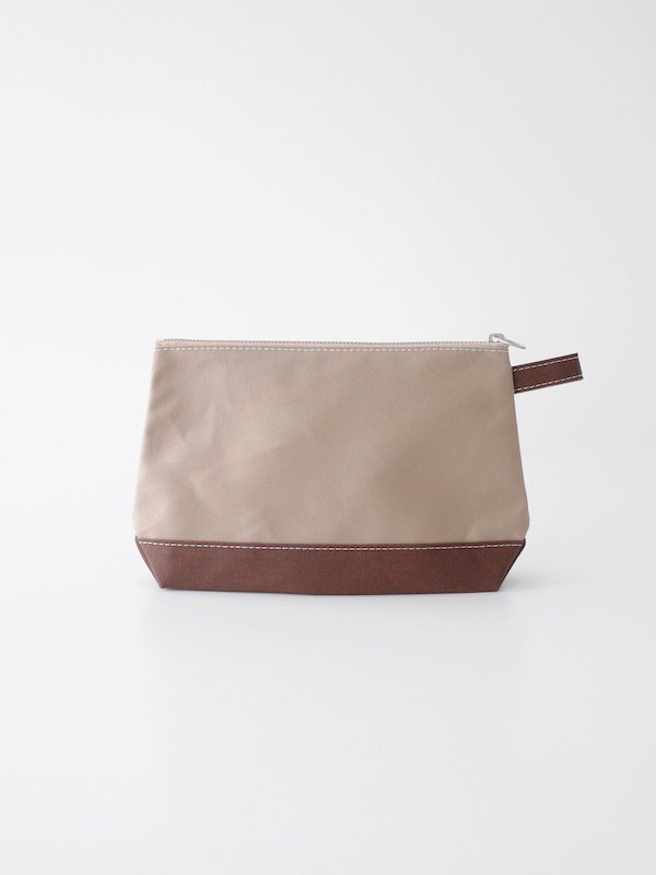 TEMBEA Toiletry Bag Large - Beige / Choco