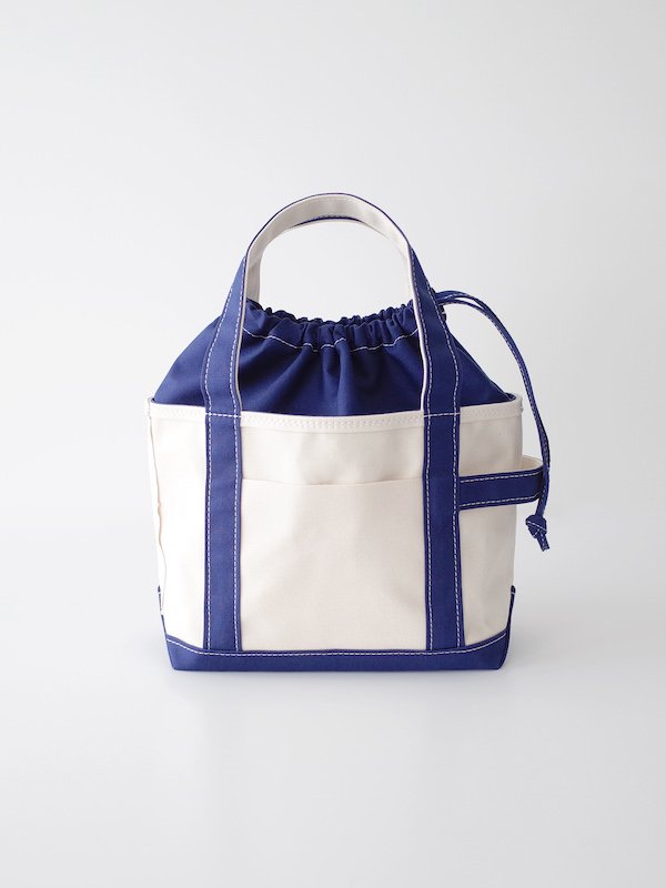TEMBEA Tote Bag Small - Natural / Navy