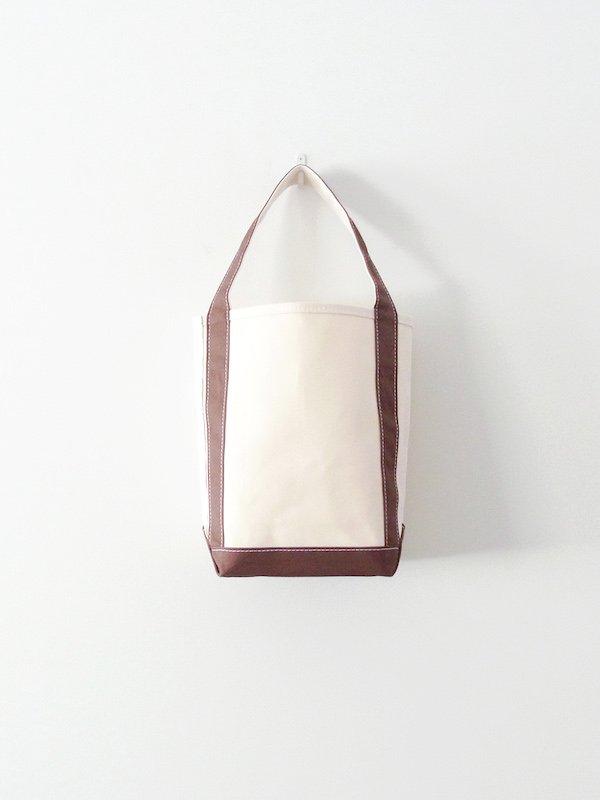 TEMBEA Baguette Tote Small - Natural / Dk Brown