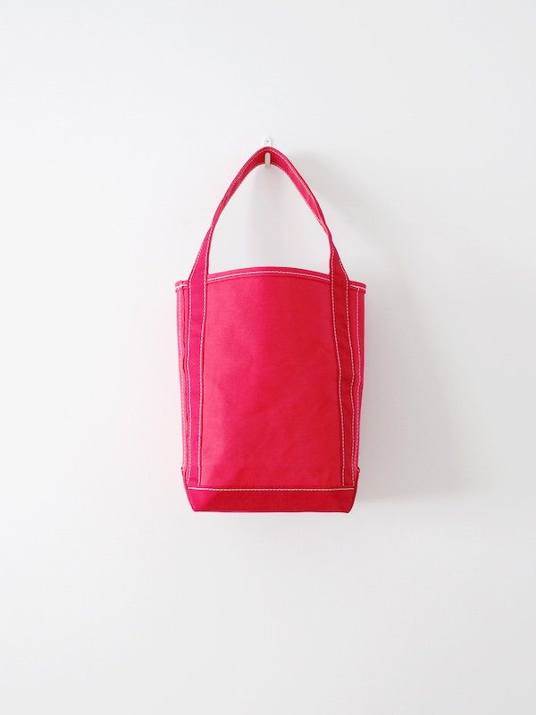 TEMBEA Baguette Tote Small - Red / Dk Red