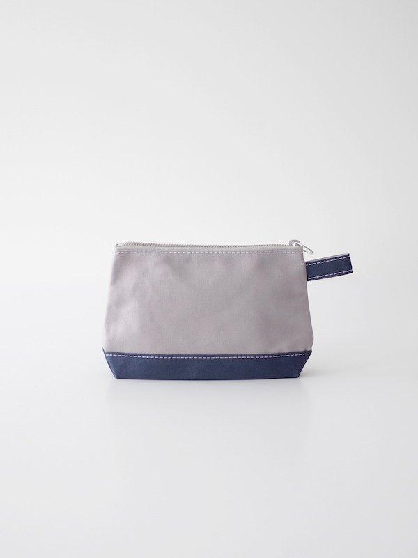 TEMBEA Toiletry Bag - Gray / Smoky Blue