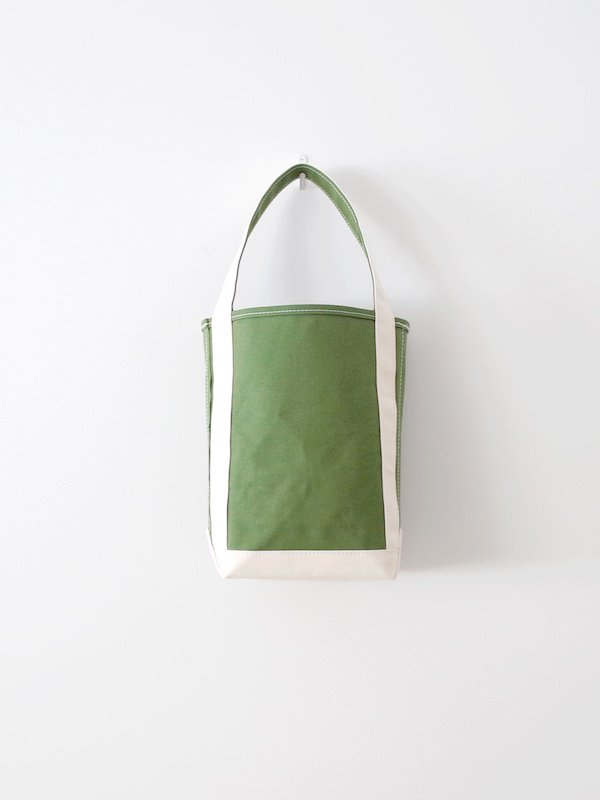 TEMBEA Baguette Tote Small - New Olive / Natural