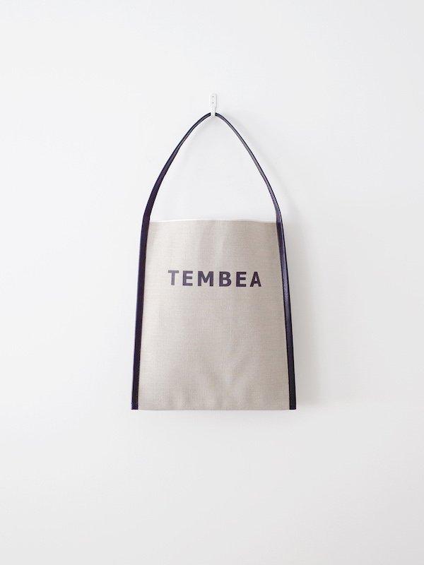 TEMBEA Big Logo Tote - Natural / Black