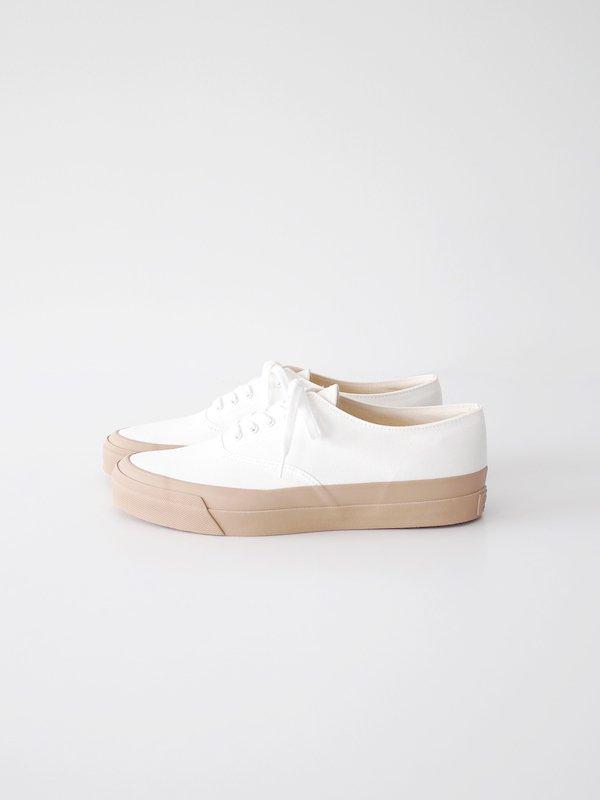 ASAHI DECK - WHITE / BEIGE