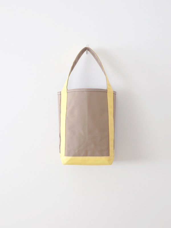 TEMBEA Baguette Tote Small - Beige / Lt Yellow