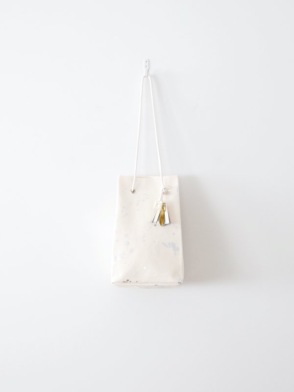 TEMBEA Game Pouch - Natural / 箔Silver