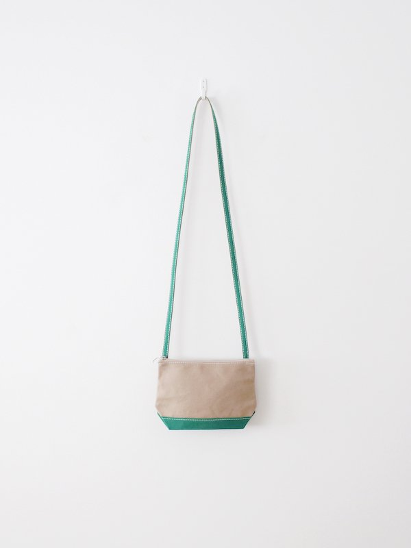 TEMBEA Pochette - Beige / Green