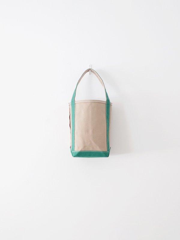 TEMBEA Baguette Tote Mini - Beige / Green