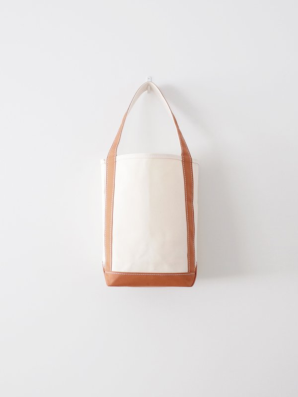 TEMBEA Baguette Tote Small - Natural / Coffee