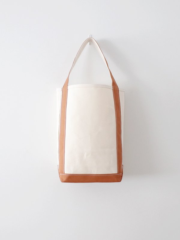 TEMBEA Baguette Tote - Natural / Coffee