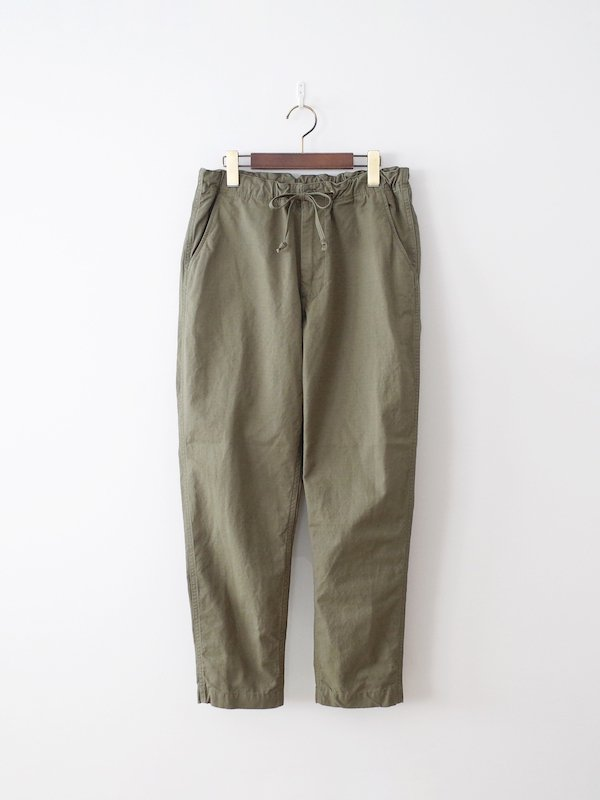 orSlow New Yorker Cotton Rip Stop - Army Green