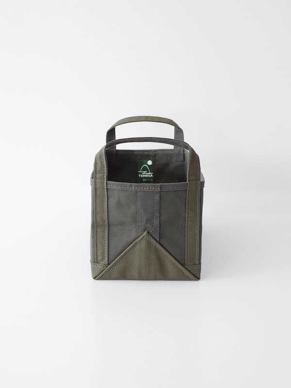TEMBEA Book Tote Small - Olive / Deep Green
