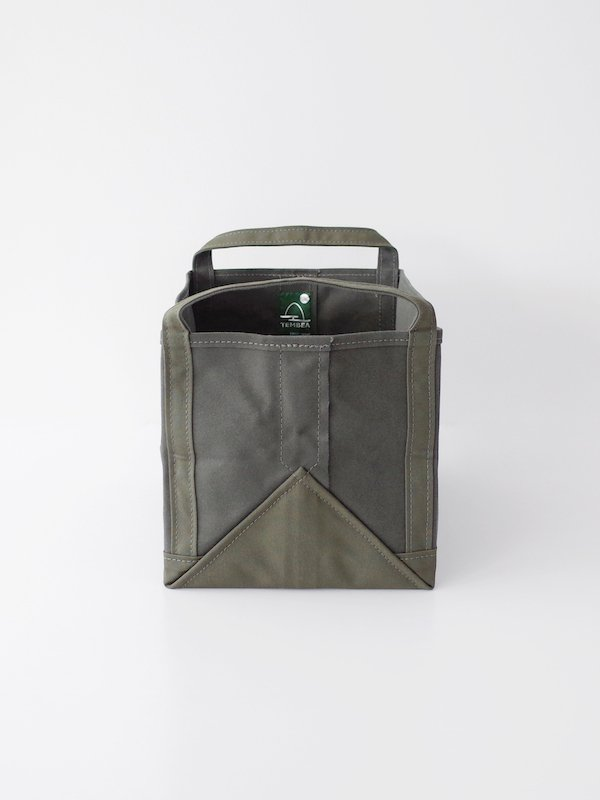 TEMBEA Book Tote - Olive / Deep Green