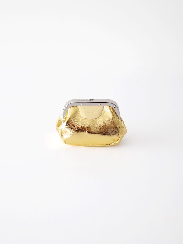TEMBEA Double Gama Pouch - Goat箔 / Gold