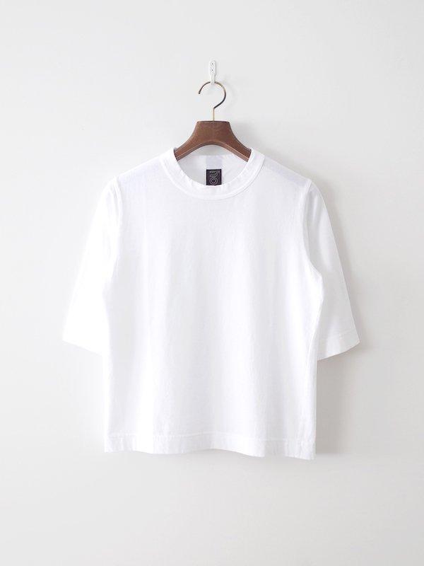 homspun 天竺六分袖Tシャツ サラシ