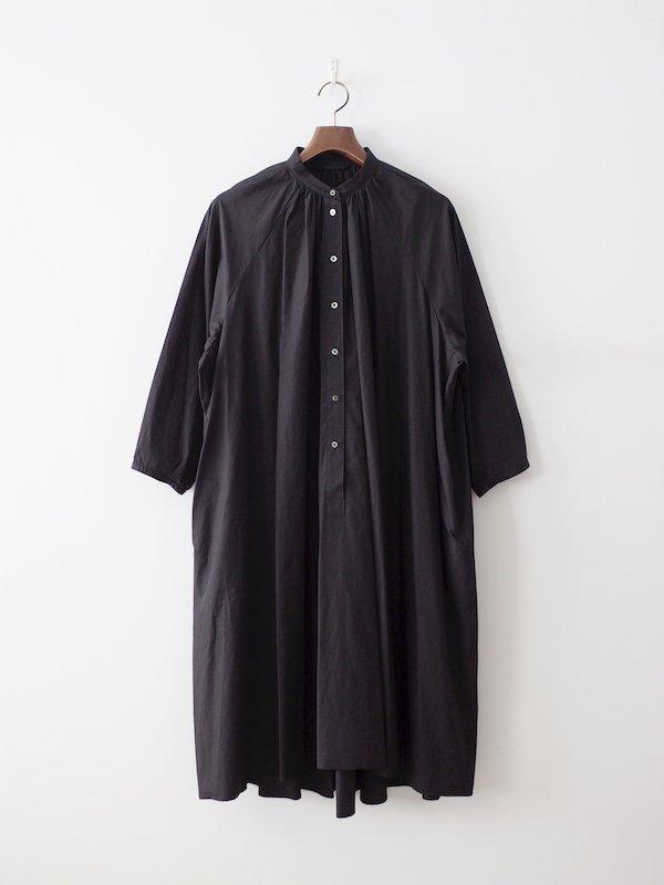 Atelier d'antan Cuvier Cotton Dress - Black