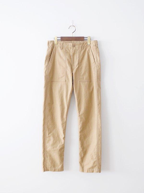 orSlow Slim Fit Fatigue Pants - Khaki
