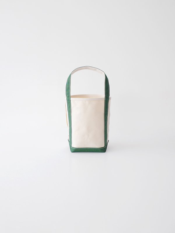 TEMBEA Baguette Tote Mini - Natural / Green