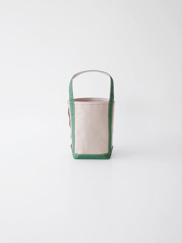 TEMBEA Baguette Tote Mini - Gray / Green