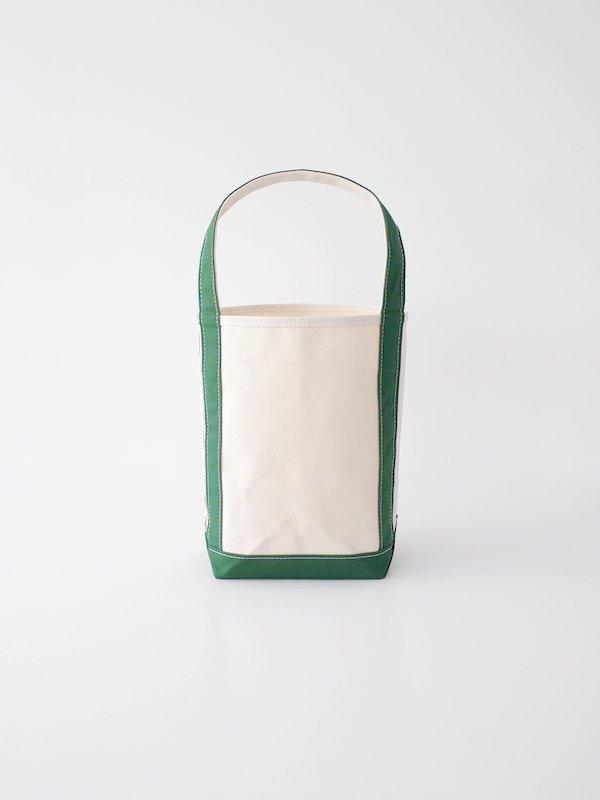 TEMBEA Baguette Tote Small - Natural / Green